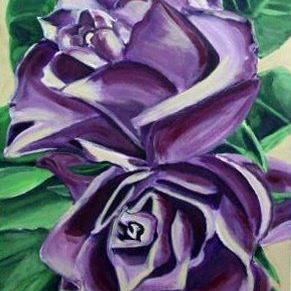 Art: Bonnie's Roses by Artist Heather Sims