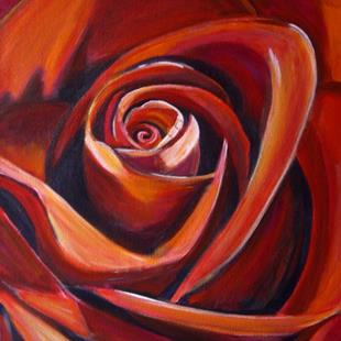Art: Roses On My Mind by Artist Heather Sims