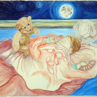 Art: The Guardians of our Sleeping Children by Artist Lisa Morgan