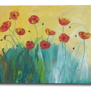 Art: Sunny Day Poppies by Artist Eridanus Sellen