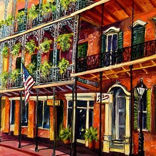 Art: A Walk in the French Quarter - SOLD by Artist Diane Millsap