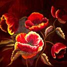 Art: Giant Poppies - SOLD by Artist Diane Millsap