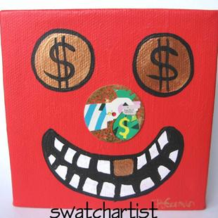 Art: A Fool and his Money (sold) by Artist PJ Gorman