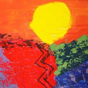 Art: Jamaica Heat by Artist Donna Gill