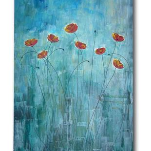 Art: Poppy Blues by Artist Eridanus Sellen