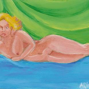 Art: Nude I - Sold by Artist Aimee L. Dingman