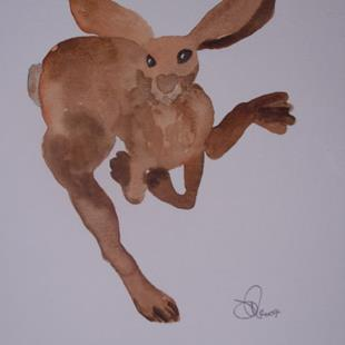 Art: HARE h485 by Artist Dawn Barker