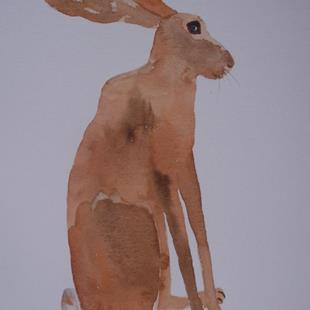 Art: HARE h486 by Artist Dawn Barker