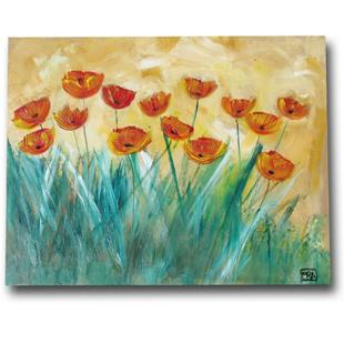 Art: Poppies in the Sun by Artist Eridanus Sellen
