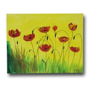 Art: Poppies for All by Artist Eridanus Sellen