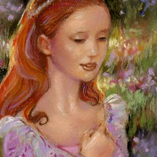 Art: Princess Dreams ~ Sold by Artist Patricia  Lee Christensen