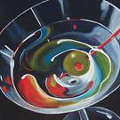 Art: Martini - Stirred by Artist Torrie Smiley