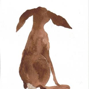 Art: HARE h498 by Artist Dawn Barker