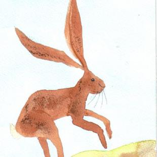 Art: HARE h500 by Artist Dawn Barker