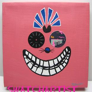 Art: Cheshire Cat (sold) by Artist PJ Gorman
