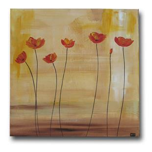 Art: These Poppies are making me Hungry by Artist Eridanus Sellen