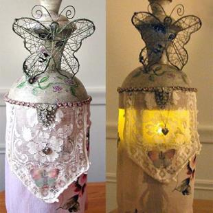 Art: Captured OOAK Art Doll - Lantern by Artist Shawn Marie Hardy