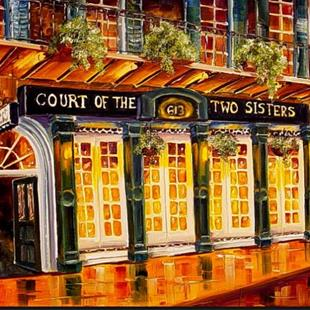 Art: Court of the Two Sisters - SOLD by Artist Diane Millsap
