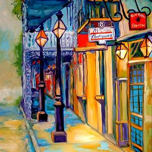 Art: FRENCH QUARTER MORNING by Artist Marcia Baldwin