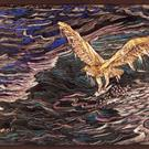 Art: Osprey catching Fish by Artist Naquaiya