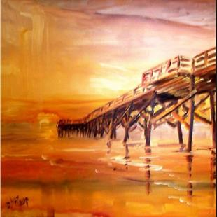 Art: Bridge to the Sun by Artist Diane Millsap