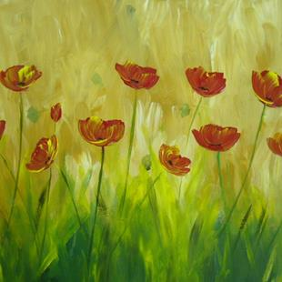 Art: Poppies for mom by Artist Eridanus Sellen
