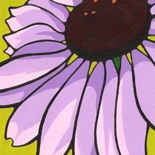 Art: Echinacea: Purple Cone Flower by Artist Kris Jean