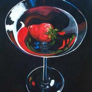 Art: Strawberry Martini by Artist Torrie Smiley