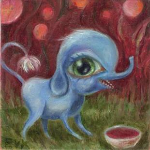 Art: Bloo Too by Artist Vicky Knowles
