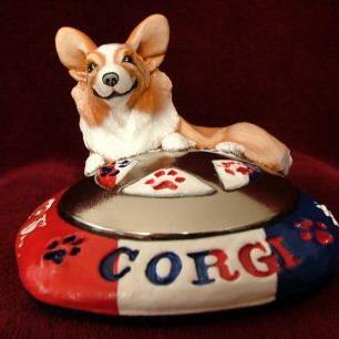 Art: Corgi Earns Silver Star by Artist Camille Meeker Turner