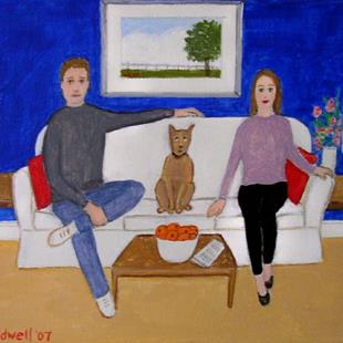 Art: Family (SOLD) by Artist Fran Caldwell