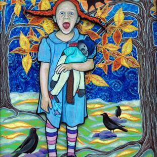 Art: Pippi Ann Longstocking by Artist Tina Marie Ferguson