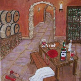 Art: Smith Private Cellar (Commission) by Artist Fran Caldwell