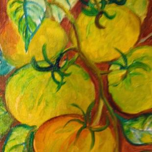 Art: Green Tomatoes by Artist Delilah Smith