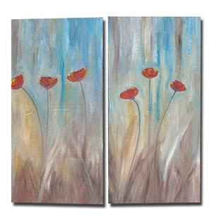 Art: Light Breeze Poppies by Artist Eridanus Sellen