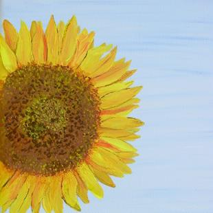Art: Sunny Face Sunflower by Artist Donna Gill
