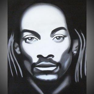 Art: SNOOP DOGGY DOG by Artist Kate Challinor
