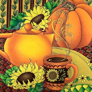 Art: Autumn Spice by Artist Shelly Bedsaul