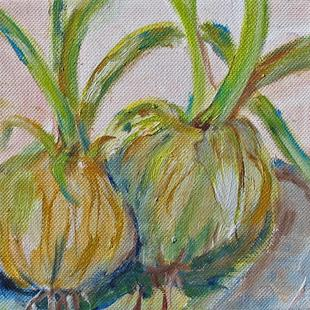 Art: Onions by Artist Delilah Smith