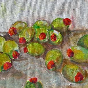 Art: Olives on the Loose-sold by Artist Delilah Smith
