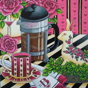 Art: French Press by Artist Shelly Bedsaul