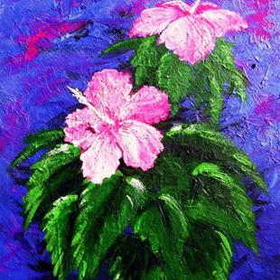 Art: Hibiscus 1 by Artist Barry Hunt
