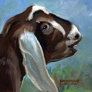 Art: Goaty by Artist Catherine Darling Hostetter