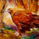 Art: GOLDEN EAGLE by Artist Marcia Baldwin