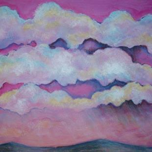 Art: Pink Sunrise by Artist Lindi Levison