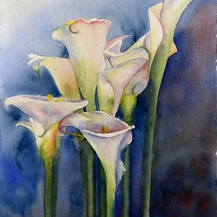 Art: Callas SOLD by Artist Kathy Haney