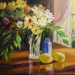 Art: A Touch of Home - impressionist still life by Artist Karen Winters