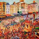 Art: Mardi Gras Rex Parade - Commissioned by Artist Diane Millsap