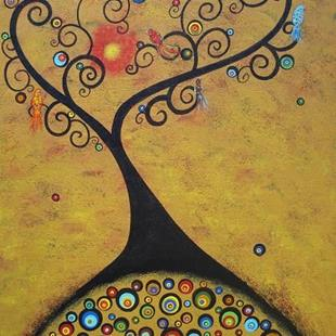 Art: The Color Tree by Artist Juli Cady Ryan