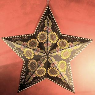 Art: Blessing Star (sold) by Artist Shelly Bedsaul